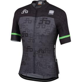 Sportful Sagan Logo Bodyfit Team Koszulka kolarska, krótki rękaw Mężczyźni szary